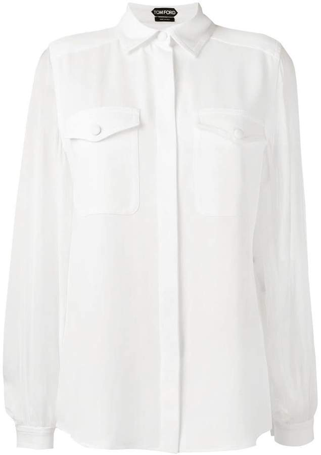 Tom Ford chest pocket shirt