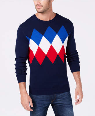 Club Room Men's Argyle Sweater