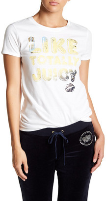 Juicy Couture Totally Juicy Tee $58 thestylecure.com