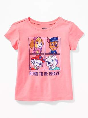 """Old Navy Paw Patrol """"Born to be Brave"""" Tee for Toddler Girls"""