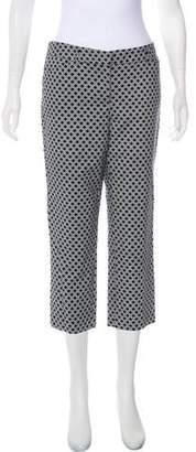 Adrienne Vittadini Mid-Rise Patterned Pants