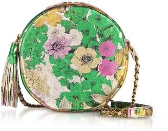 Jerome Dreyfuss Remi Tahiti Laminated Round Shoulder Bag