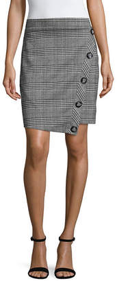 BY AND BY by&by Womens Short Asymmetrical Skirt-Juniors