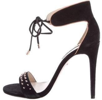 Ruthie Davis Suede Bow Sandals