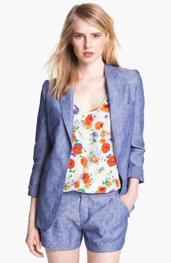 Joie 'Mehire A.' Chambray Blazer 2
