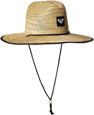 Roxy Junior's Tomboy 2 Straw Sun Protection Hat