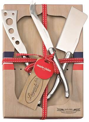 Marie Claire Laguiole Domain Cheese Knife Set of 3 Steel