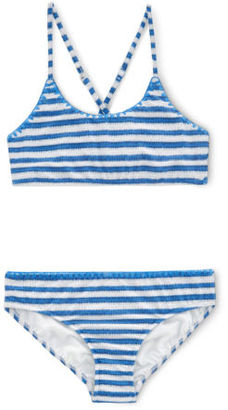Seafolly NEW Stripe Tankini Blue