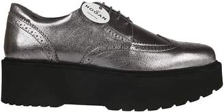 Hogan Perforated Oxford Shoes