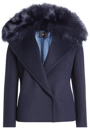 Steffen Schraut Jacket with Wool and Faux Fur