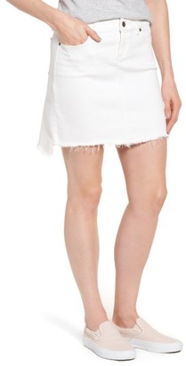 Women's Vineyard Vines High/low Denim Miniskirt $88 thestylecure.com