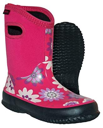 Itasca Unisex Youth Bayou Rubber/Neoprene Waterproof Boots Rain