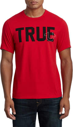 True Religion MENS SLOGAN LOGO TEE