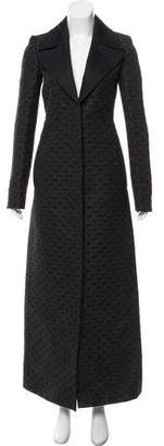 Gucci Jacquard Long Coat