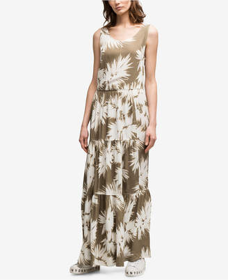 DKNY Printed Tiered Dress, Created for Macy's