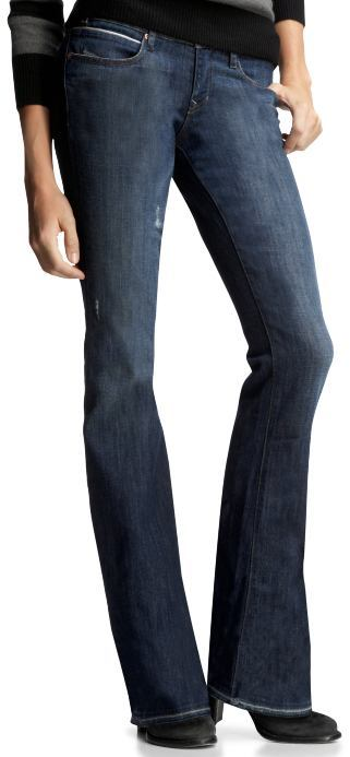 Sexy boot destructed jeans (medium wash)