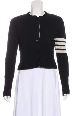 Thom Browne Structured Striped Cardigan