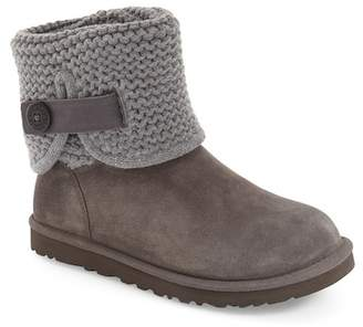 UGG Shaina Knit Suede Boot