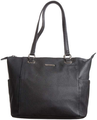 2550b297b5 Leather Side Pocket Handbag Style. Quick Look. Side Pockets Handbag Neiman  Marcus. Prada Black Vitello Daino Leather Side Pocket Tote Bag Br5009