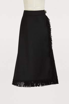 Vanessa Seward Wool cloth skirt