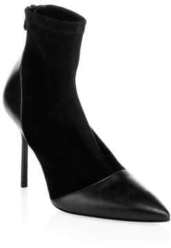 Pierre Hardy Dolly Suede& Leather Sock Booties