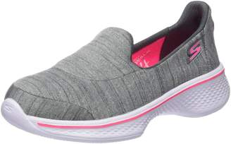 Skechers Girl's GO WALK 4 - SATISFY Slip-Ons