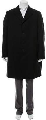 Dolce & Gabbana Notch-Lapel Wool Coat
