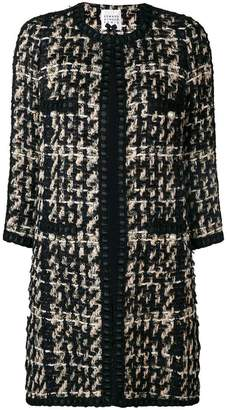 Edward Achour Paris patterned coat