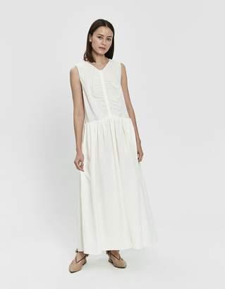 Jil Sander Gardenia Linen Dress