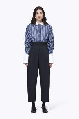 CONTEMPORARY Striped Cotton Shirt with Flared Cuffs