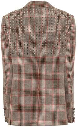 Junya Watanabe Studded wool and linen blazer