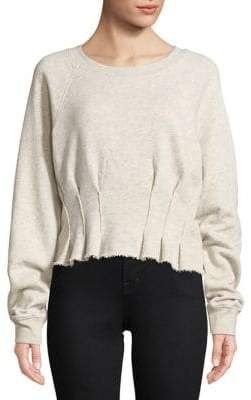 Current/Elliott Current Elliott Pintucked Sweatshirt