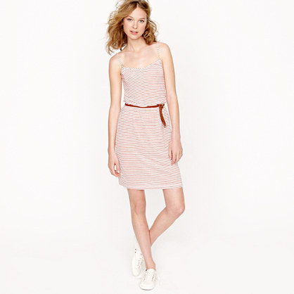 Shoreline-stripe dress