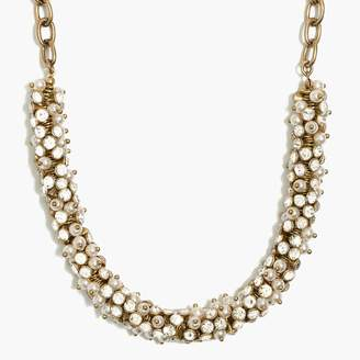 J.Crew Crystal wreath necklace