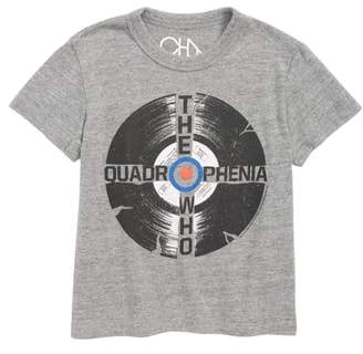 Chaser The Who Record Graphic T-Shirt