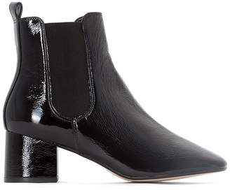 Dune London Pecco Leather Ankle Boots