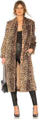 Michelle Mason Faux Fur Coat