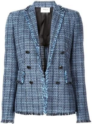 Akris Punto fringed woven jacket