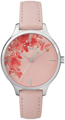 Timex Womens Pink Strap Watch-Tw2r66600jt