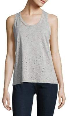 Saks Fifth Avenue Carnegie Shotgun Cotton Tank Top