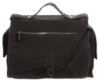 Helmut Lang Textured Leather Satchel