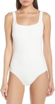 Lenny Niemeyer Piquet Maillot One-Piece Swimsuit