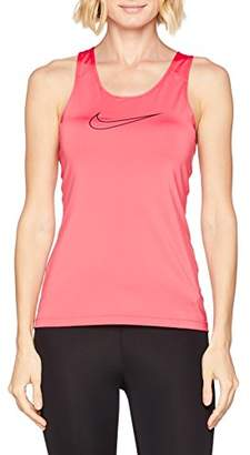 Nike Women's Tank Top Victory, Sea Coral / (Black), S, 889560-823