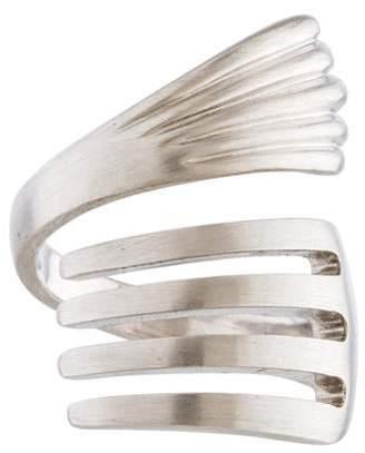 Ring 18K Fork Wrap