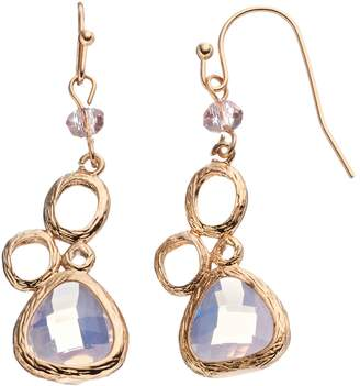 Loli Bijoux LOLI BIJOUX Breast Cancer Awareness Pink Teardrop Earrings