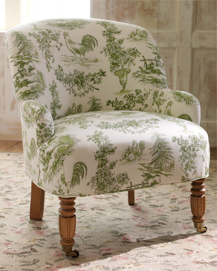 Horchow Estate Toile Chair