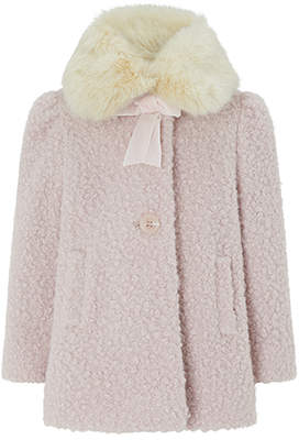 Monsoon Baby Beatrice Boucle Coat