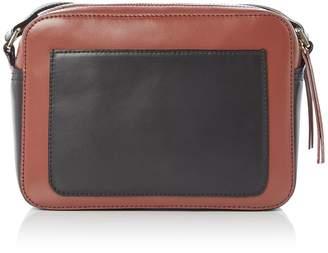 Linea Farrah Leather Camera Bag Crossbody