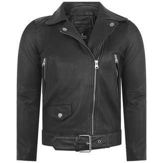 Little Remix Little RemixBlack Soft Leather Aida Biker Jacket