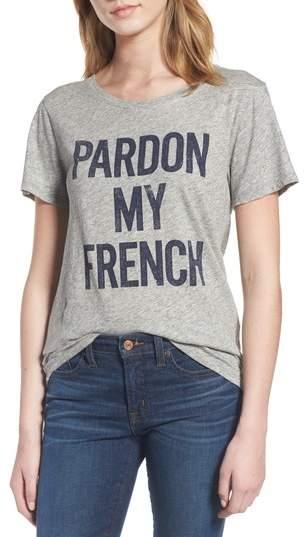 J. CREW J.Crew Pardon My French Graphic Tee